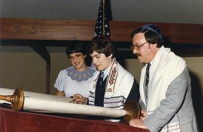 David's Bar Mitzvah_Sept. 15, 1984