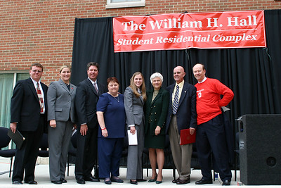 "2005 Bill Hall ""Residential Complex"" Dedication"