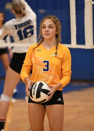 Wren at Woodmont Varsity Volleyball 8-26-21
