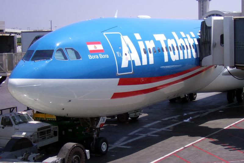 Flight 001 ready to go at LAX.