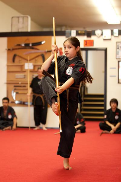 2011-06-25 Brown Belt Test - Karla