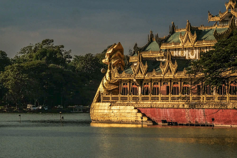 55  Royal Barge, Rangood, Burma