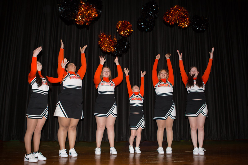 16 01 20 Towanda Wrestling Cheerleaders