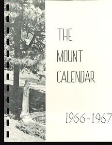 1966-1967 Mount Calendar