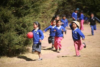 PUMAMARKA, CUSCO, PERU - Classroom visit.
