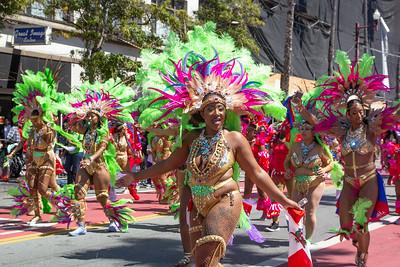 2018 CarnavalSF Parade