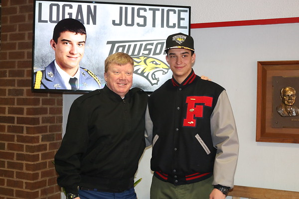 Logan Justice Signs with Towson on NSD -- Feb. 7, 2018