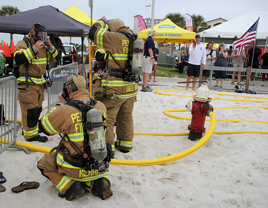 2019 Pensacola Beach Firefighter's Challenge (Friday night)