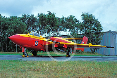 British RAF  Hawker Siddeley Sex Vixen Military Airplane Pictures