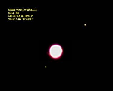 Jupiter And Antares June 11, 2019