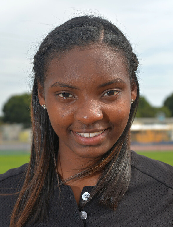 . Carson High is set to defend their City softball title with returning players. Hillary Edior.         Photo by Robert Casillas / Daily Breeze