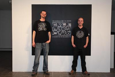 UMF Art Gallery - Tim Clorius and Matt W. Moore