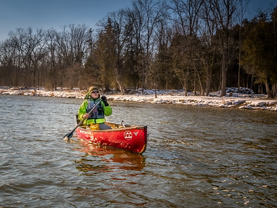 New Year's Day 2017 Paddle