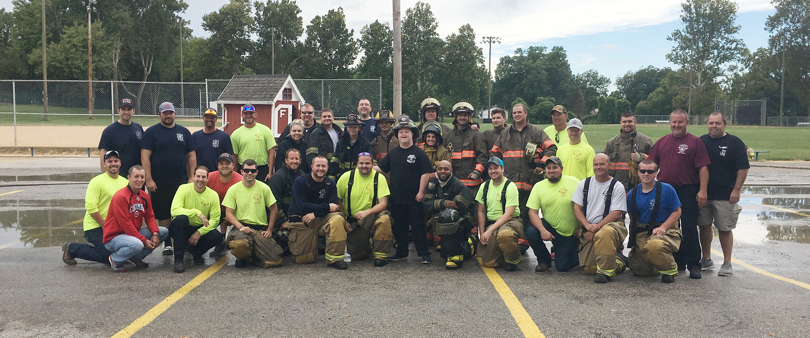 Columbia Fire Department Muster