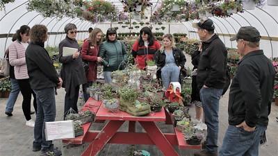 "Ukrainian ""Women in Agriculture"" visit Fusilier Family Farms"