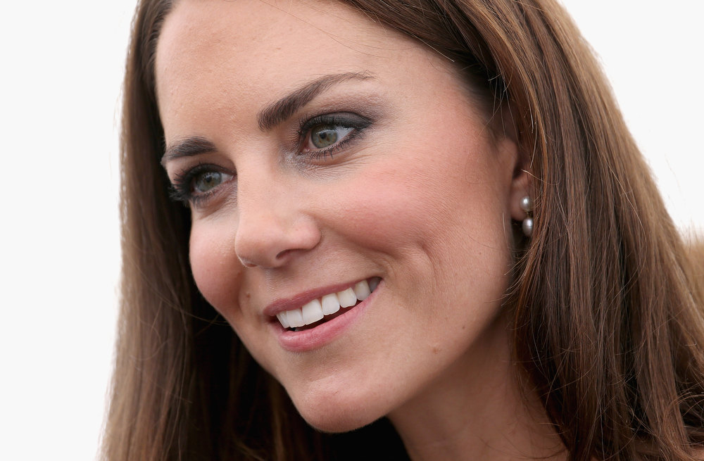 Description of . In this Thursday, July 26, 2012, file photo, Britain's Kate, Duchess of Cambridge attends a reception as she visits Bacon's College in  London. Kate Middleton ranked as Google's second most searched trending person of 2012. Her name ranked sixth in searches overall.  (AP Photo/Chris Jackson, file)