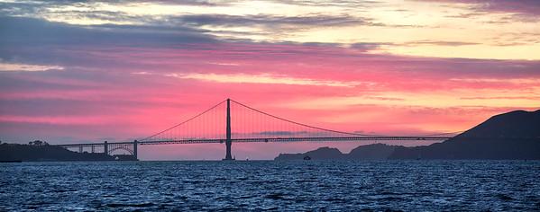 Sunset from Treasure Island