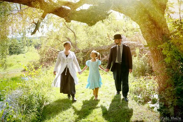 Amy, Jeff & Victoria