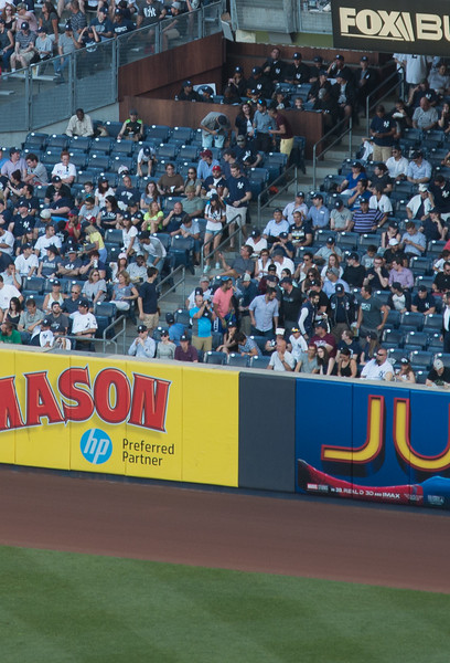 """""""The Judge's Chambers"""" in Right Field (for rookie right fielder Aaron Judge), Yankee Stadium, the Bronx, NYC"""