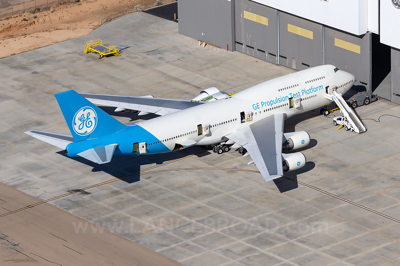 General Electric Aviation 747-400 - N747GF - VCV