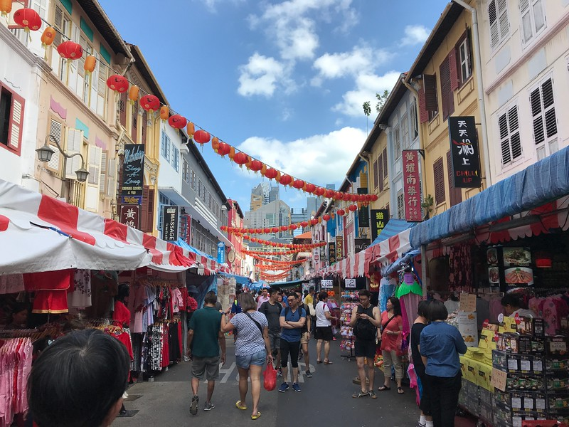 singapore chinatown - great place to visit in singapore with kids