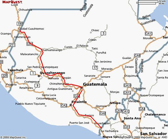 Comitan to El Salvador red line.JPG