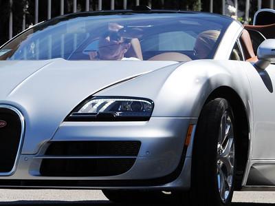 EXC: Arnie's Girlfriend Drives $2 Million Veyron