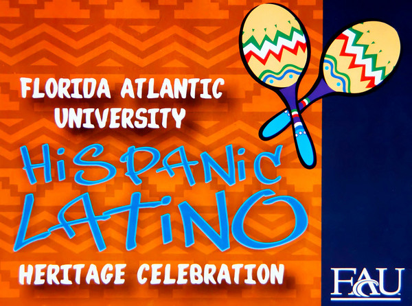 Hispanic Latino Heritage Celebration at FAU September, 2009 honoring Jorge Abellama
