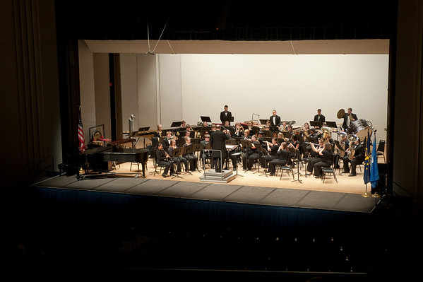 Symphonic Band and Wind Orchestra performance