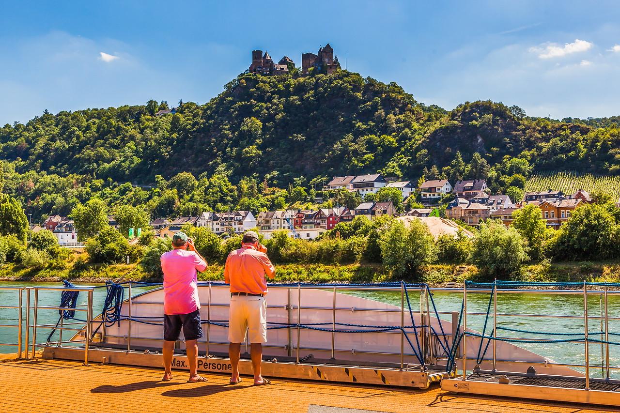 畅游莱茵河,游船视野
