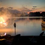 Fireworks Pretty Lake August 2011