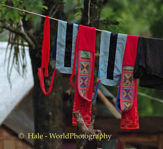 Hill Tribe Textile Art