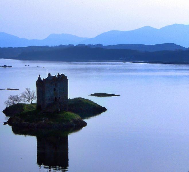 Castle Stalker, Loch Laich, South of Oban.