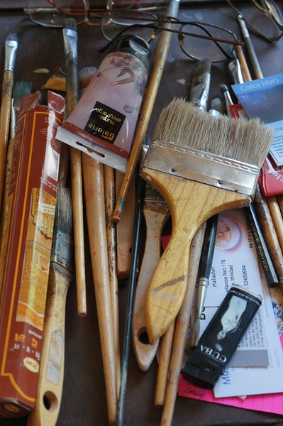 Artist's Implements - Justin D. Jacobson