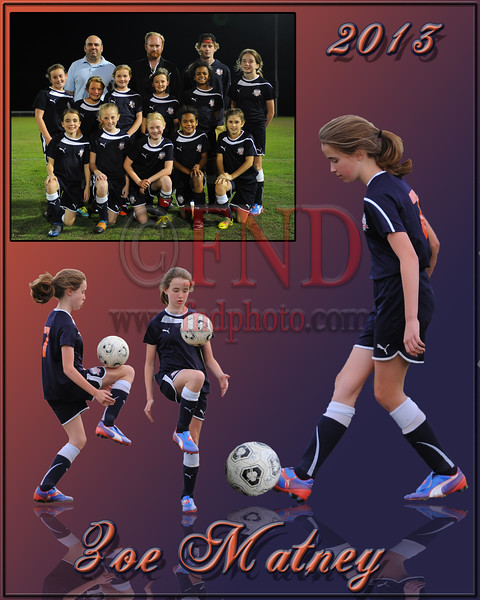Davidson County U11 Soccer Team