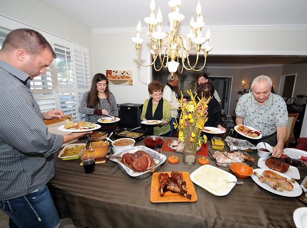 Thanksgiving 2013:  November 29, 2013