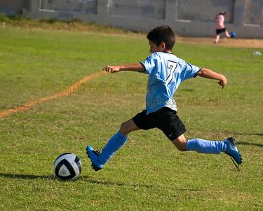 Gabriel's Soccer Game - November 14, 2009