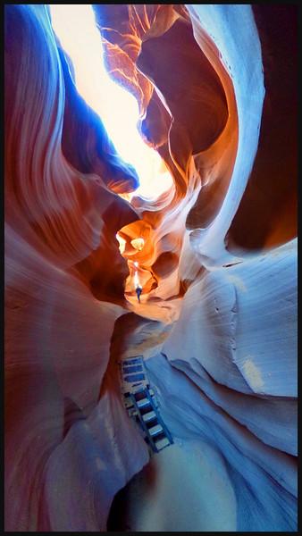 Lower Antelope Canyon  Page, AZ Feb 2015