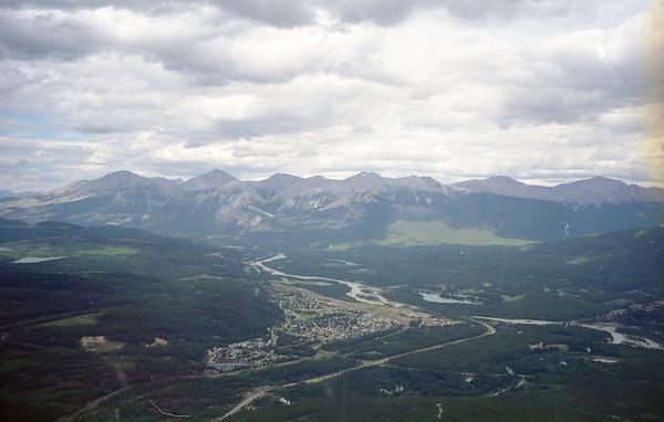 02ish Jasper & Columbia Ice Fields FROM NEGATIVES