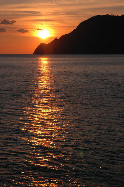 Sunset from Vernazza