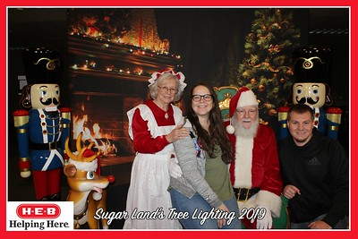 Christmas Tree Lighting Sugar Land 12-06-2019