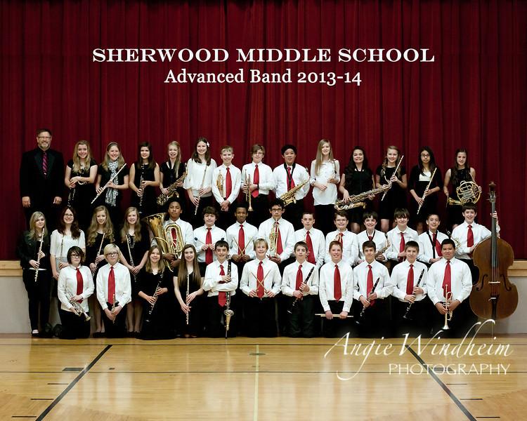 SMS Advanced Band 2013-14