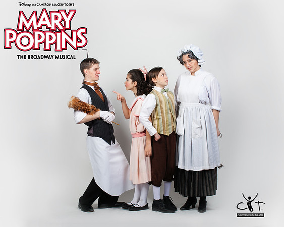 Portraits and Poppins Cast Photo