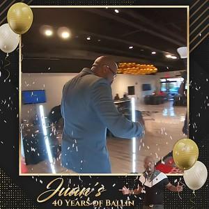 Juan's 40th Birthday Celebration