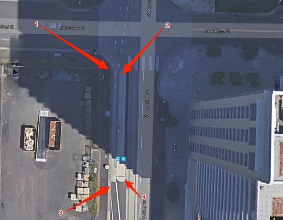 Proper Bike + Bus Stops