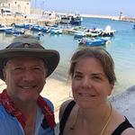 amy & harry by boats.JPG
