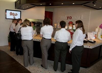 Cali Yogurt Grand Opening