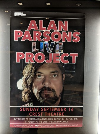 Alan Parsons Live Project at Crest Theatre