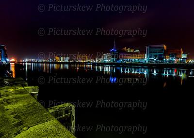 Belfast Waterfront at Night