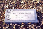 BEAVER, MARY ANN (McVEA) Dec 9, 1887 - Sep 4, 1970 Saturn Cemetery, Gonzales Co, Texas